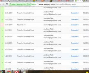 AlertPay backoffice payment proof ( JustBeenPaid )2.