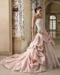 white pink wedding.
